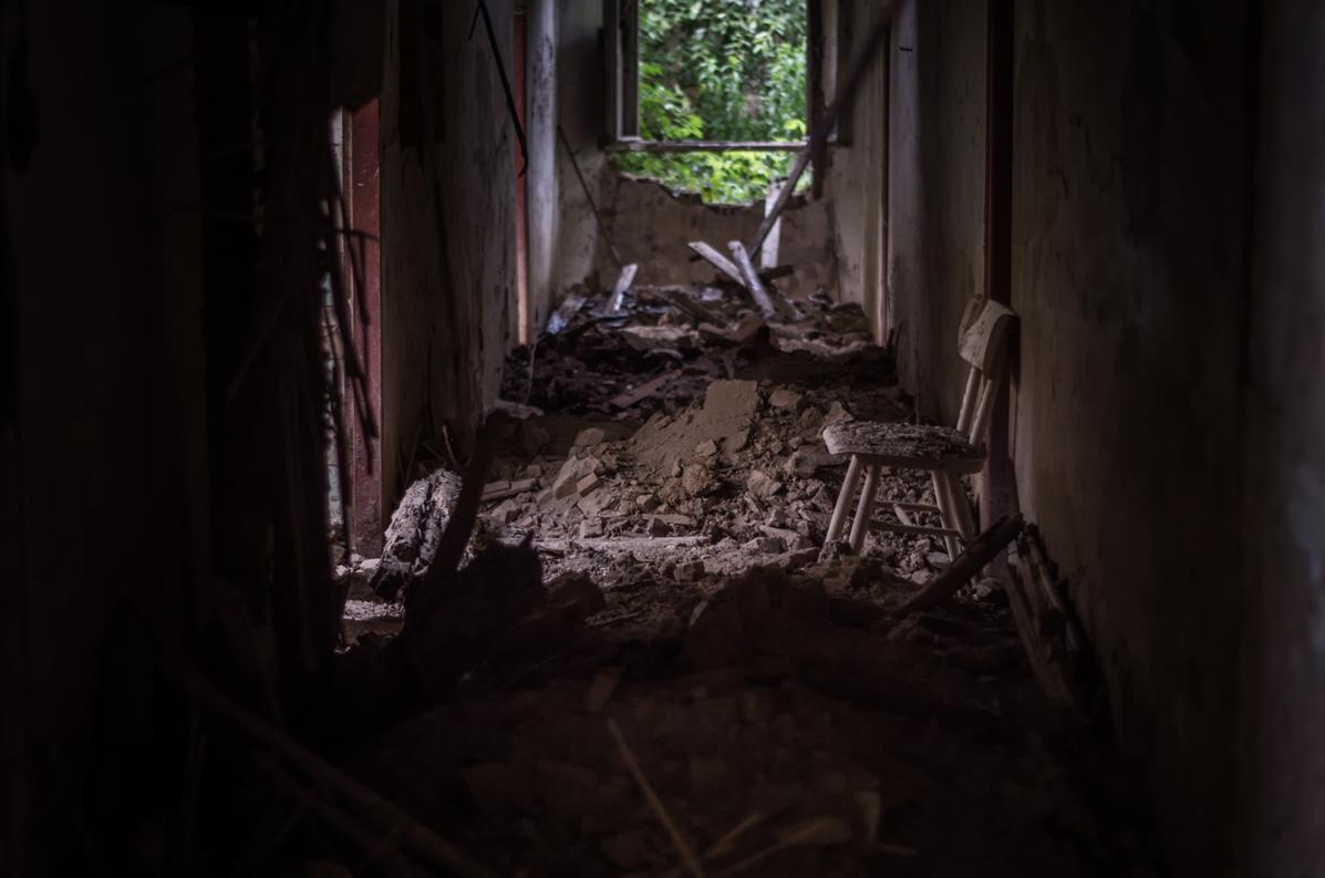 Verlassene Orte: Das Schloss von Oschelin