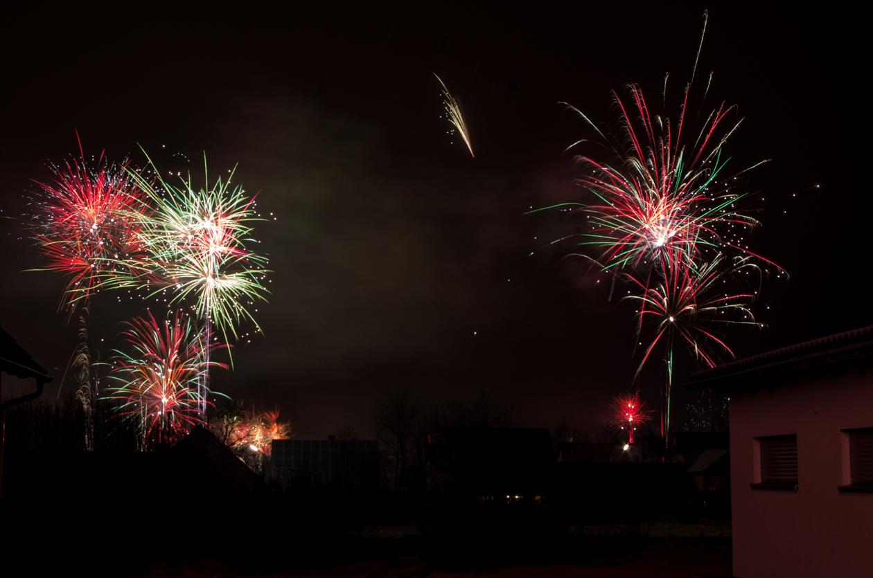 Einfach Bilder – Silvesterfeuerwerk in Weiherhammer