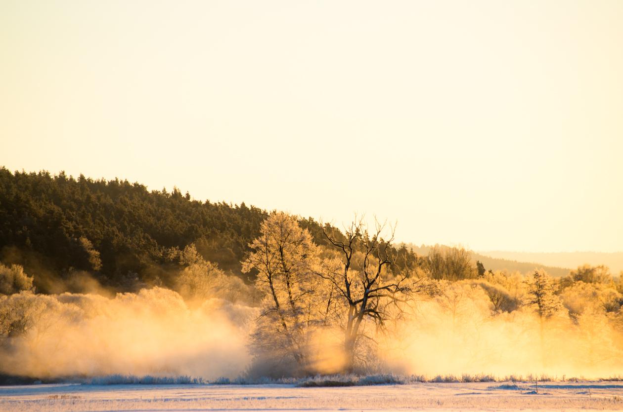 Einfach Bilder – Wintersonnenexplosion bei Etzenricht