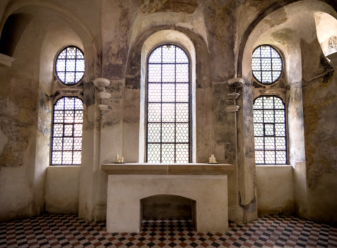 Nur zu besuch: im Klosterdorf Speinshart